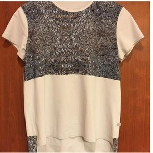 Lululemon T shirt-mosaic Beaded 10